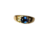 Colour-Change Sapphire Ring